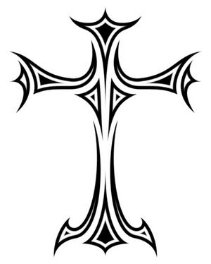 cross tattoos designs for men on Awesomest Black Tattoo Designs | How to Tattoo?