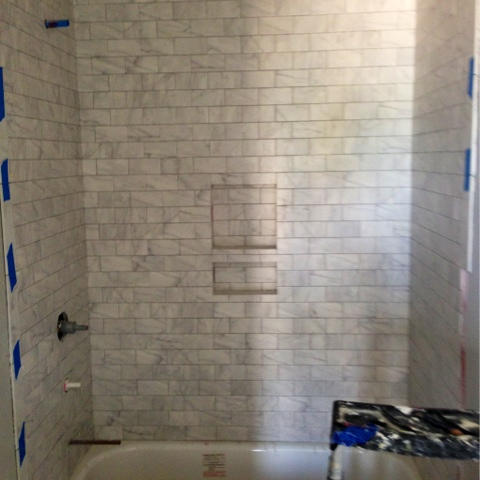 home of malones house update bathroom tiles a