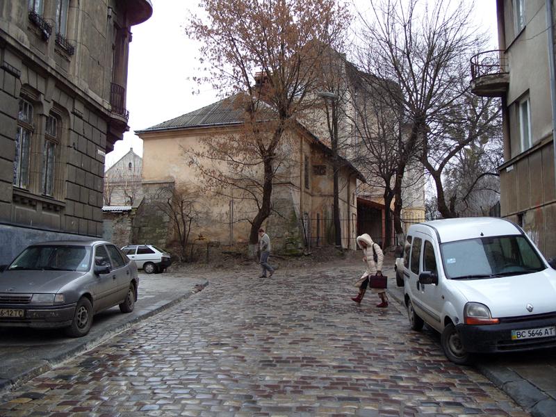 Львов. Улица Грабовского