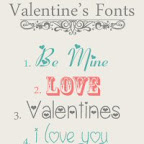 Valentines Fonts