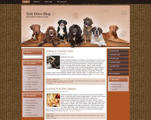 Dog WP Theme