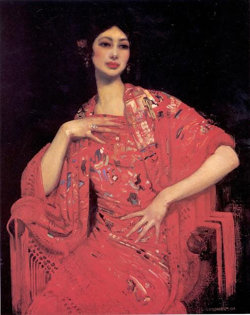 George Lambert - The Red Shawl,1913