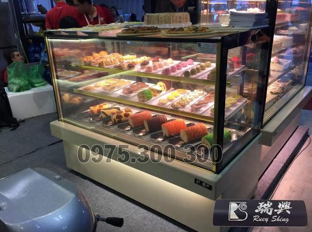 Tủ bánh kem 3 tầng dài 1m5 Đài Loan RueyShing RS-C1005SQ