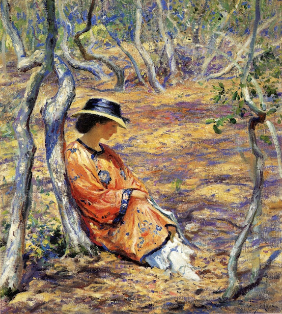 Guy Orlando Rose - In the Oak Grove
