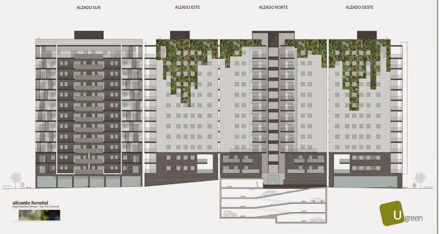 Opciones para jardín vertical en Barcelona - Opción colgante