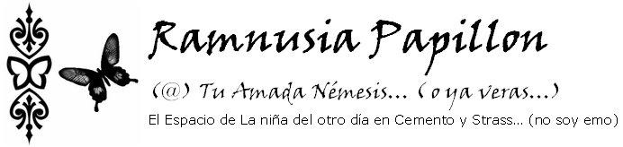 (@) Tu Amada Nemesis... ( o ya veras...)