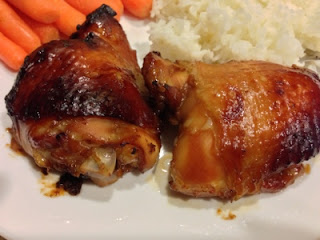 Baked Soy Ginger Chicken