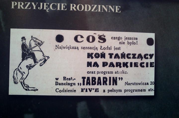 lata 20 lata 30. Łódź