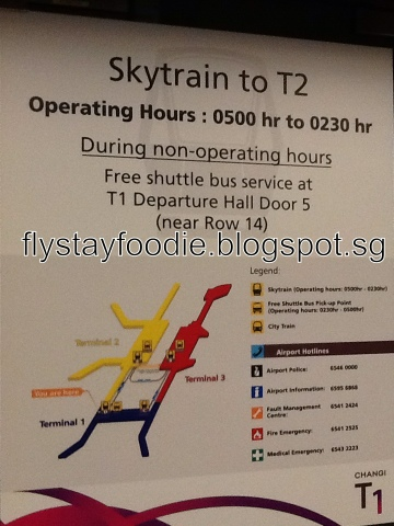 A commoner 39 s guide fly stay food skytrain and changi for Missouri s t dining hall hours