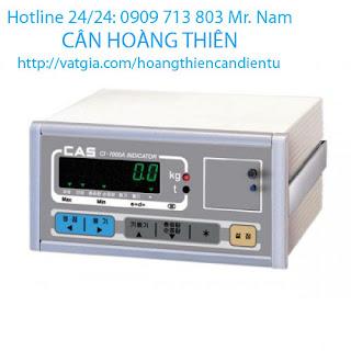 đầu cân điện tử cas nt-570a-2