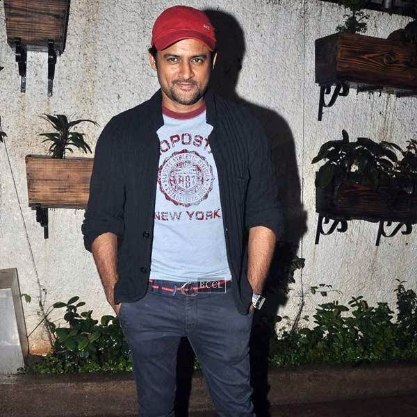 Manav Gohil attends the premiere of Bollywood movie Hate Story 2, held at Super Sunny Sound in Mumbai, on July 17, 2014.(Pic: Viral Bhayani)