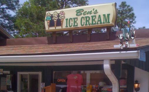ben's ice cream stand