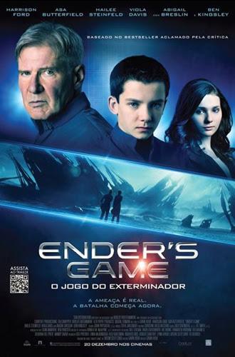 Filme Poster Ender's Game – O Jogo do Exterminador TS XviD & RMVB Dublado