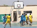 Etoile d'or de Kisangani(EOK) en bleu contre Onatra de Matadi (jaune) le 08/08/2013 au stade de Martyrs à Kinshasa, lors de la 30ème coupe du Congo de Basket-ball. Radio Okapi/Ph. John Bompengo