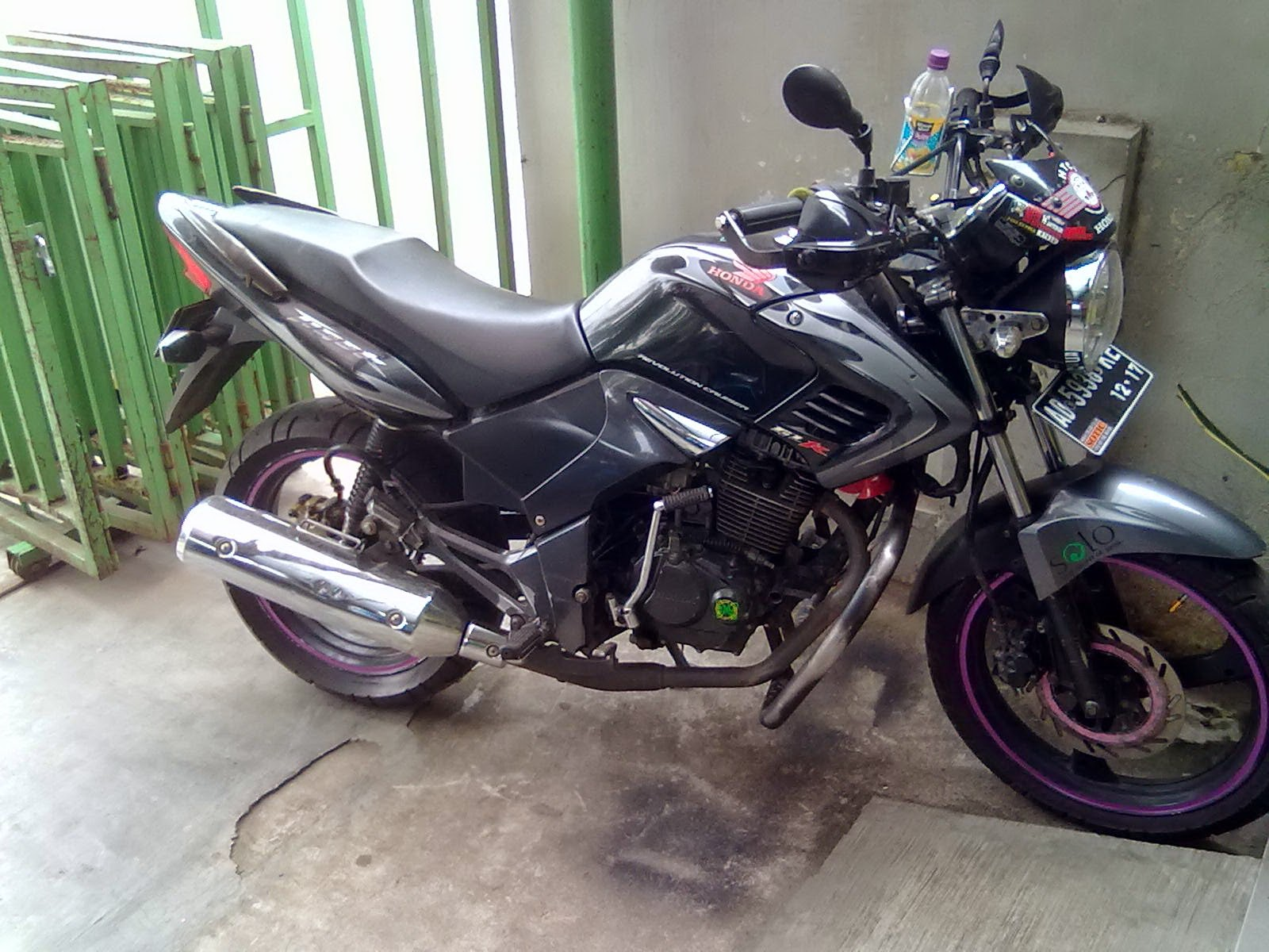 Honda Tiger Modifikasi Touring