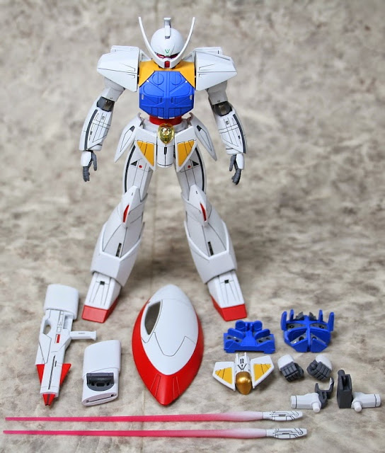 Các chi tiết kỹ thuật tinh xảo sắc nét của mô hình WD-M01 Turn A Gundam HGCC 1/144