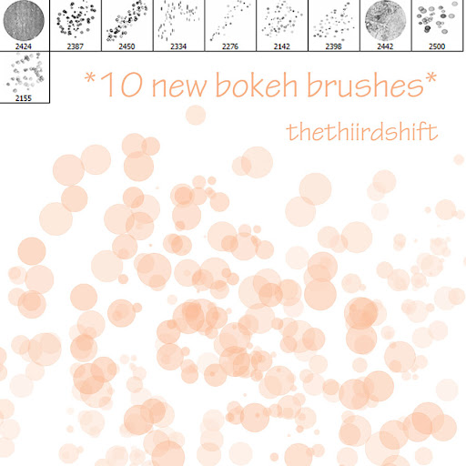 10 Bokeh Brushes