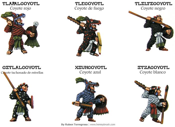 Nombres De Guerreros Aztecas Wwwimagenesmycom