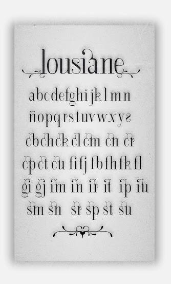 Lousiane Free Fonts
