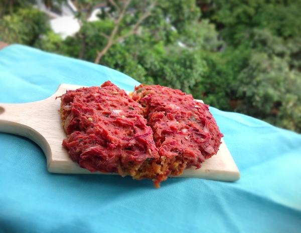Rustic Okara Khara Veggie Bread