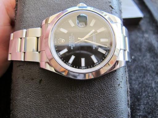 Bán đồng hồ rolex datejust 2 – model 116300 – vành trơn – dây inox – size 41mm