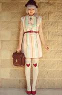 Pastel Dress Vintage