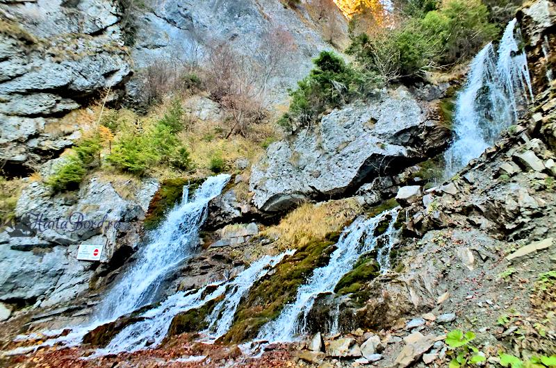cascade valea spumoasa bucegi