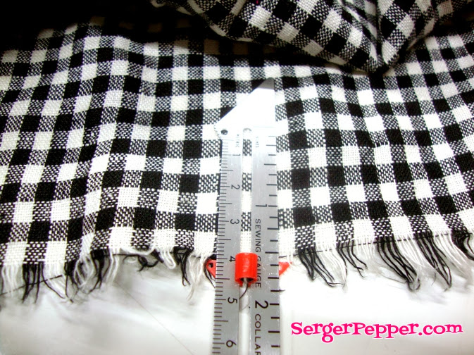 Serger Pepper - The Mary Skirt - FREE pattern - yoga waistband