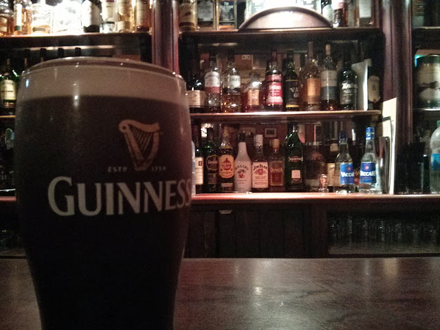 Guinness in a pub
