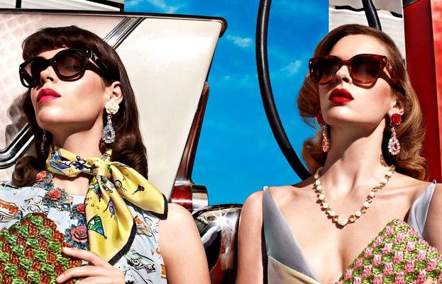 Prada sunglasses spring summer 2012 campaign