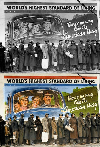 Американският начин - Най-известните исторически черно-бели фотографии в цвят