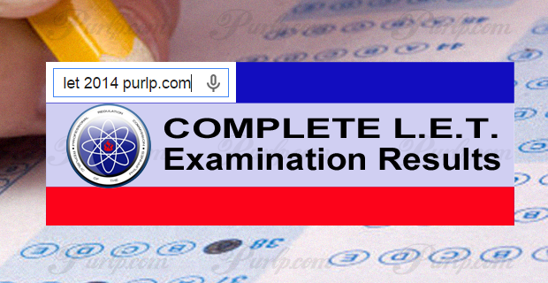 prc exam results august 2014 let full list of passers