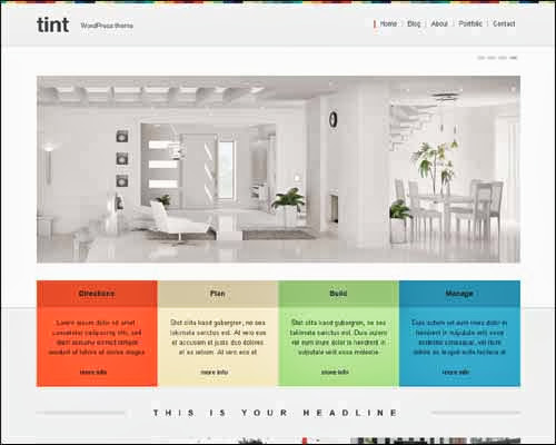 theme wordpress tint