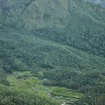 pierwszy widok na Ramma - cel naszej wspinaczki