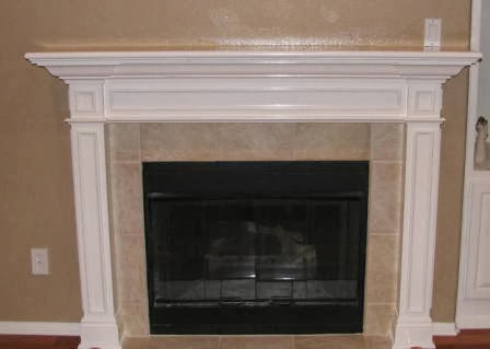 how to make a fireplace mantel with crown molding