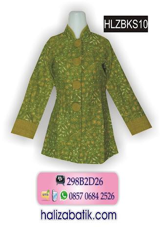 grosir batik pekalongan, Baju Batik Wanita, Busana Batik Modern, Busana Batik Wanita