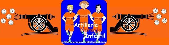 Artillería Naranja Infantil del Caja3 BALONMANO ARAGÓN