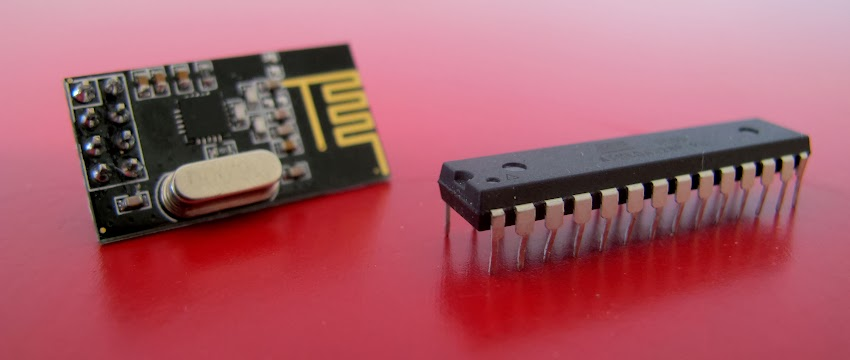 nRF24L01+ and ATMega328P-PU
