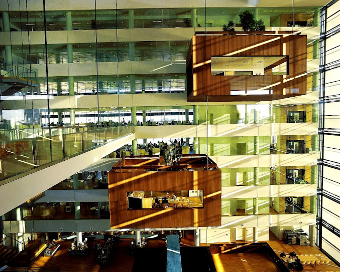 *Nykredit Headquarters:玻璃帷幕的設計猶如一棟水晶大樓! 3