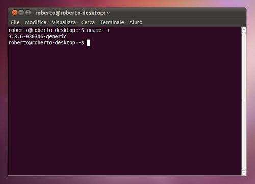 kernel 3.3.6 su Ubuntu