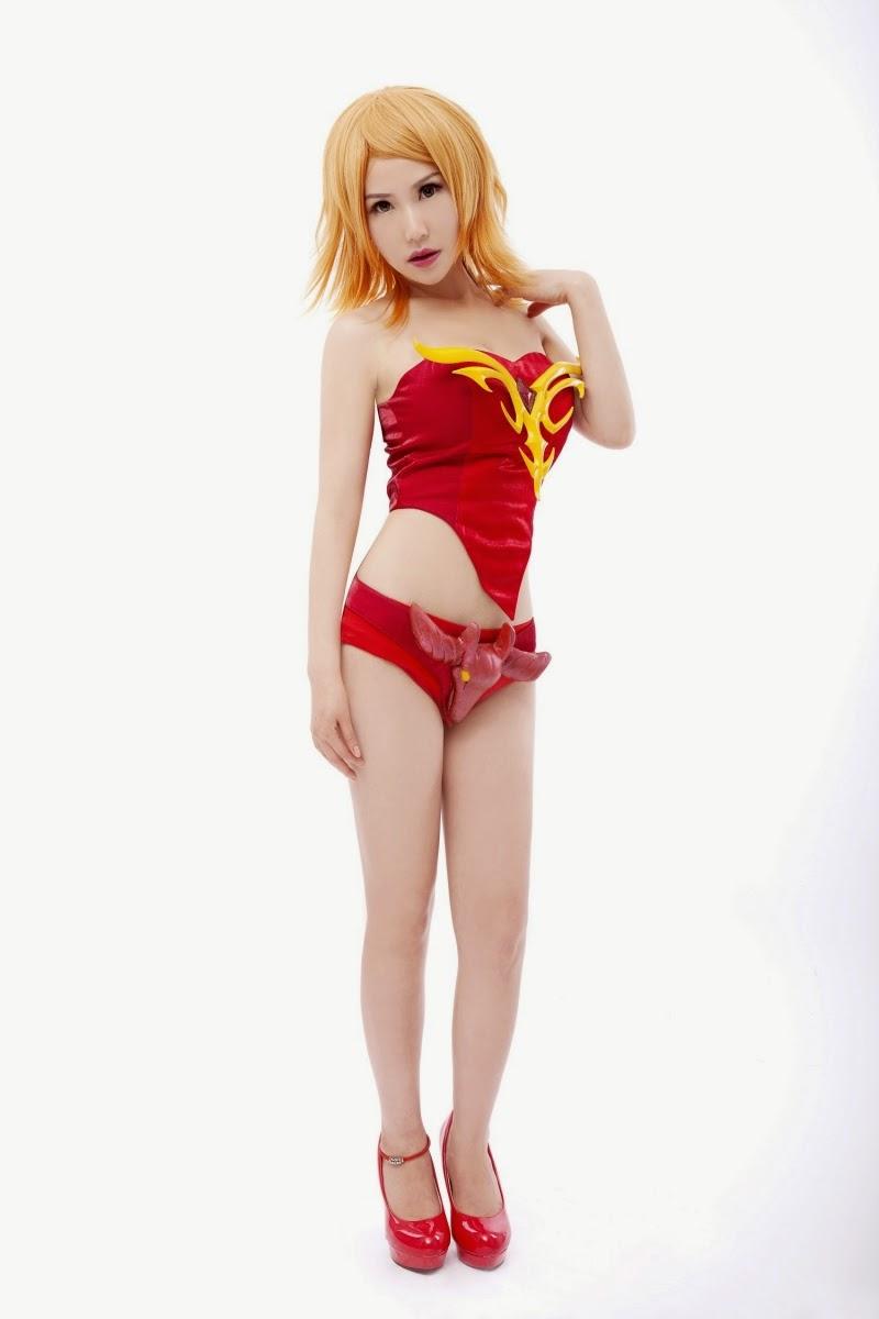 """Ngắm loạt cosplay """"bốc lửa"""" của DotA 2 Trung Quốc - Ảnh 15"""