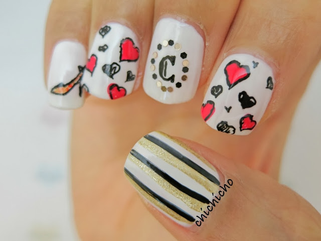 Gel Pen Nail Art