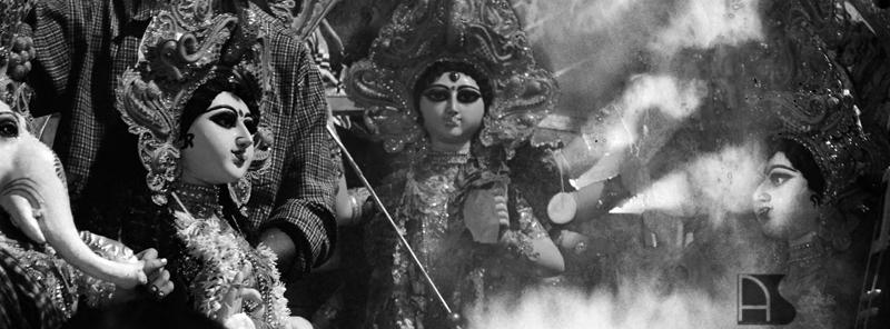 bhasan, durga puja, anirban saha photography