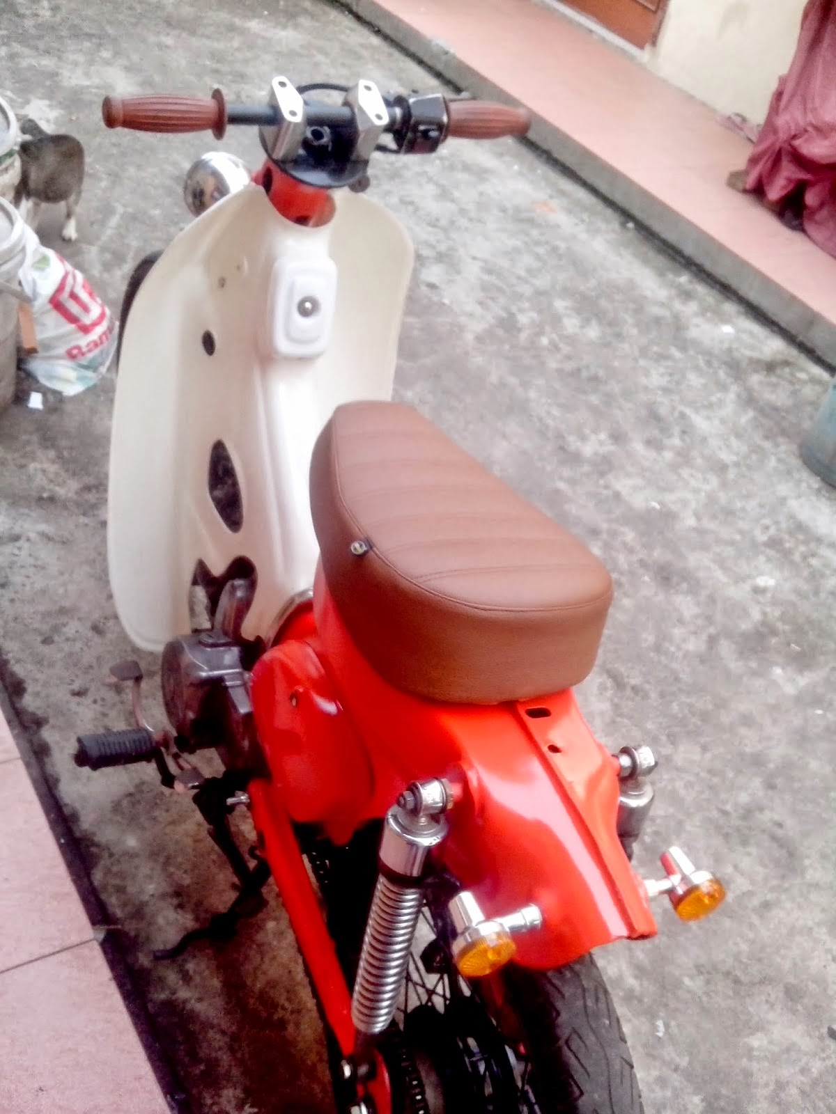 Download 77 Modifikasi Motor Grand Chopper Terlengkap Cermin
