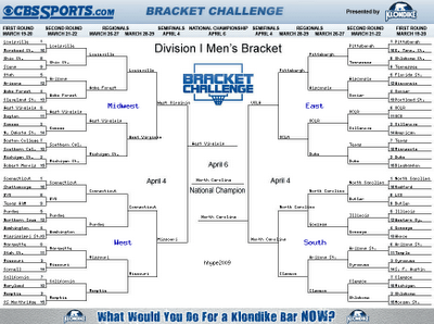 all or nothing lottery game in ncaa brackets