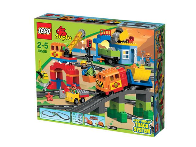 レゴ デュプロ デラックストレインセット 10508