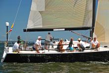 J/122 sailing Vineyard Race- Christopher Dragon