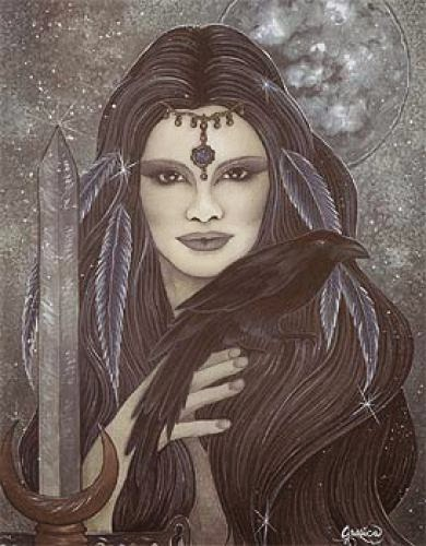 Prayer To The Morrigan For A Deceased Loved One