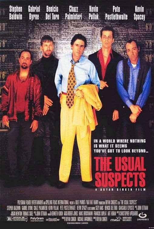 Poster Of The Usual Suspects (1995) Full Movie Hindi Dubbed Free Download Watch Online At Alldownloads4u.Com
