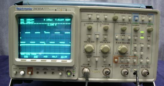 Old Oscilloscope Screen : Joel avrunin s effective bits of knowledge difference